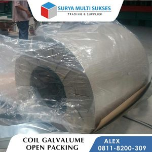 coil galvalume packaging
